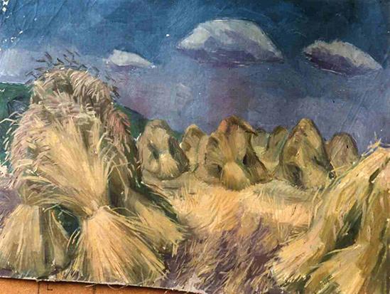 Feld bei Kutterschitz, 1936